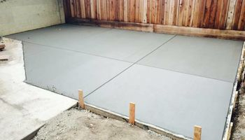 CONCRETE PATIOS, DRIVEWAYS, FOUNDATIONS