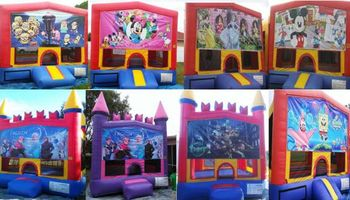 TENTs, chairs, tables, combo, bounce for you