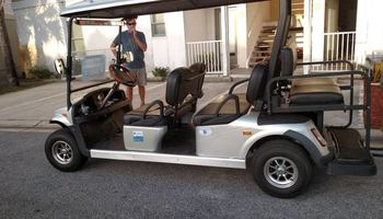 Golf carts for events
