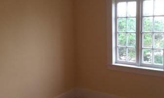 Drywall hanging, taping, sanding texture.