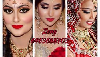 Now booking for bridal makeup and hair styling service