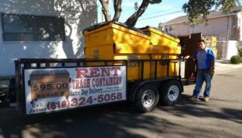 Javier's Trash Bin Rentals