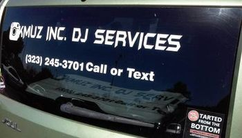 Kmuz Inc Dj Service 4 hours $160 - basic package