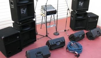 THE SOUND GUY. PA System Speakers Rental for DJ, Event, or Bands. Sound System