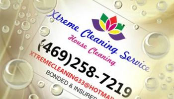 XTREME CLEANING SERVICE(house cleaning)