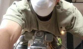 Hard wood floor sender
