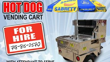 HOT DOG CARTS FOR HIRE FOR EVENTS / PARTIES