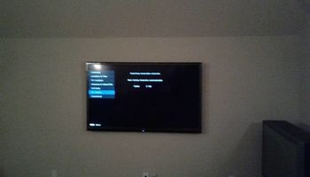 TV Mounting $40* 7 days a wk early or late-Same Day Install