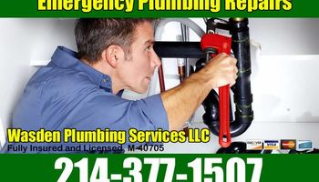 Master plumber available for all types of work