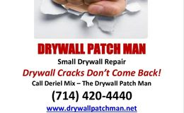Photo #1: Dry Wall Patch Man