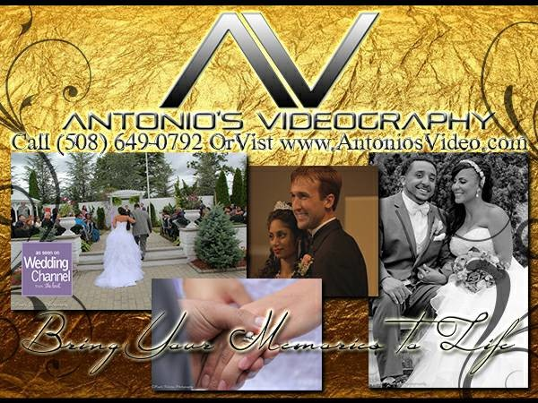 Antonio 39 s videography wedding video with 2 videographers for Wedding videographers in ma
