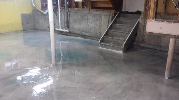 Great Basement Polished Concrete Grinding Concrete Leveling Sealing With  Seal Basement Floor.