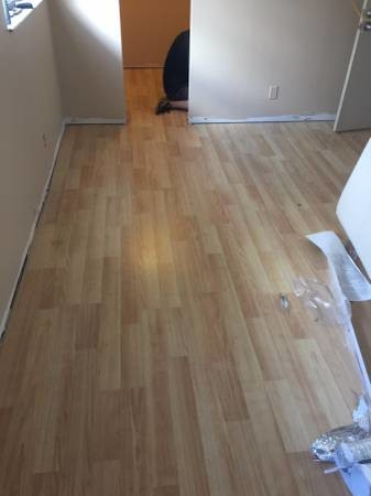 Laminate wood floor instillation materials for Wood flooring miami
