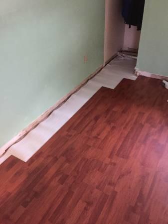 Laminate Wood Floor Instillation Materials