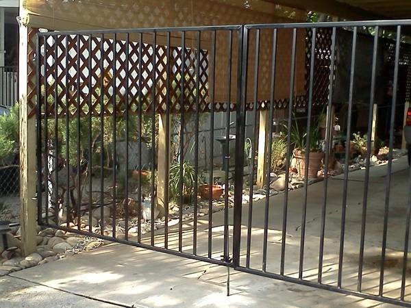Premier Fencing Co Wood Vinyl Wrought Iron Chain
