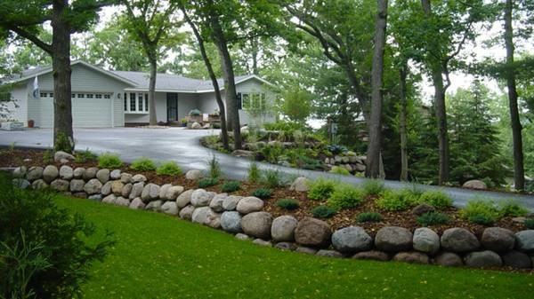 Landscaping Boulders Mn : Boulders landscaping inc boulder retaining walls outcroppings