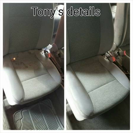 Tony 39 S Auto Detailing Mobile Carpet And Seats Shampoo Wax Buff Motor Cleaning 661 859