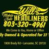 Will's Mobile Auto Headliners