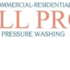 ALL PRO pressure washing
