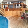 Deck building, staining, and reconditioning