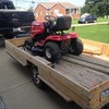 Need something hauled? 3/4 ton pick up with a trailer!