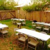 F&V Rentals. Table and Chair for RENT