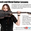GUITAR LESSONS/ ROCK AND METAL!!!!