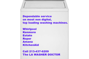 Photo #1: The LA Washer Doctor