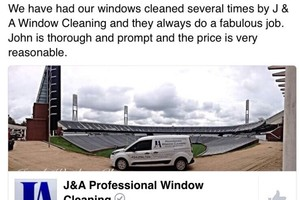 Photo #7: J&A Professional Window Cleaning