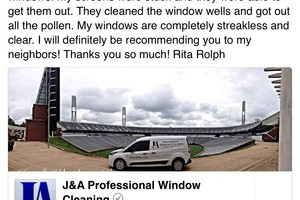 Photo #9: J&A Professional Window Cleaning