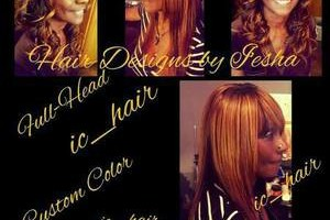 Photo #1: Hair Designs by I'esha