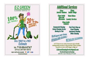 Photo #1: Ez Green Cleaning Service