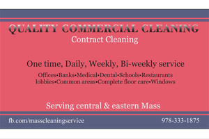 Photo #1: Quality Cleaning Service