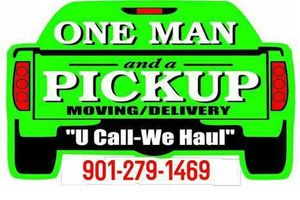 Photo #1: One Man and a Pickup, Moving/Delivery