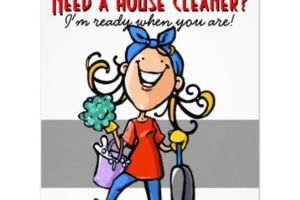 Photo #6: Laura housekeeping