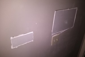 Photo #2: Patch perfect drywall and repair co