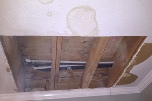 Photo #3: Patch perfect drywall and repair co