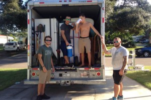 Photo #1: Parris moving transporting & junk removal