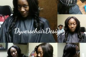 Photo #3: Dyverse Hair Designz