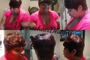 Photo #6: Dyverse Hair Designz