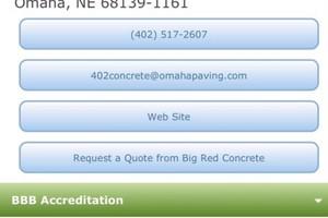 Photo #4: Big Red Concrete