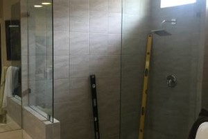 Photo #3: New glass and shower