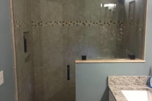 Photo #4: New glass and shower