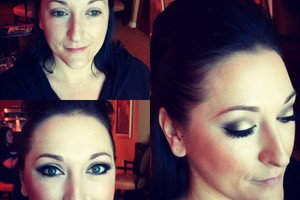 Photo #2: Krissy's hair and makeup