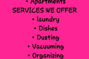 Photo #1: Maid 2 Clean Cleaning Services