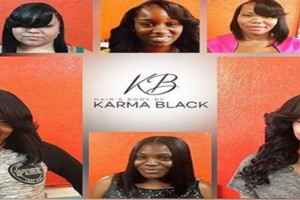 Photo #5: Hair By Karma Black (sew in & quick weave)