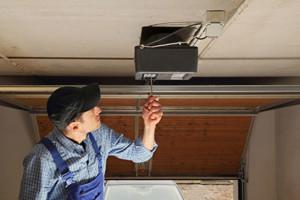 Photo #1: Garage Door Repair Emerson