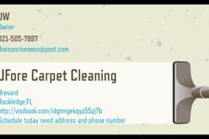 Photo #1: JForeCarpetCleaning