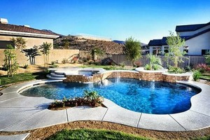 Photo #1: HernPoolCo SWIMMING POOLS/SPA