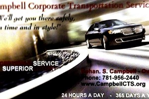 Photo #1: Campbell Corporate Transportation Service LLC